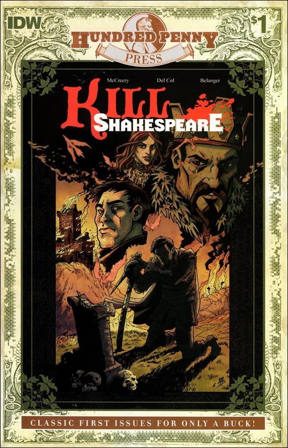 Kill Shakespeare 1-D by IDW