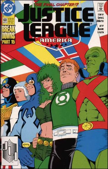 Justice League America 60-A by DC