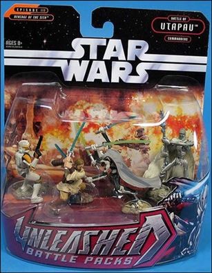 Star Wars: Unleashed Multi-Figure Battle Packs Battle of Utapau - Commanders