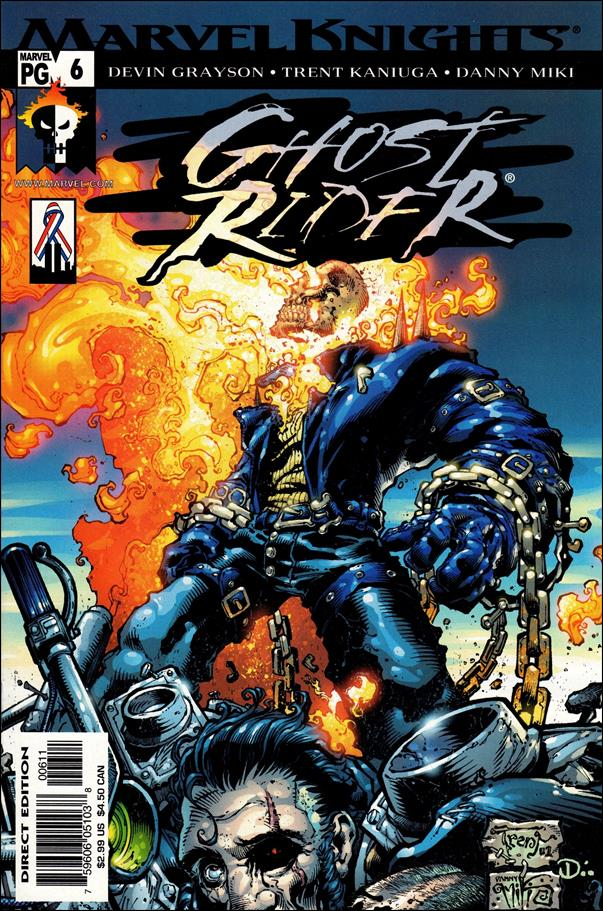 Ghost Rider (2001) 6-A by Marvel