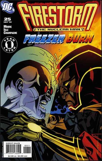 Firestorm: The Nuclear Man (2006) 25-A by DC