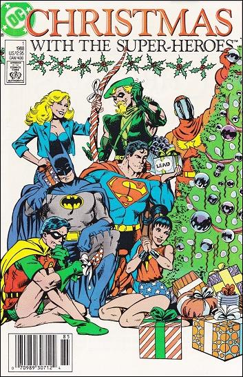 Christmas with the Super-Heroes 1-A by DC