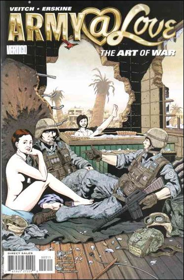 Army @ Love: The Art of War 3-A by Vertigo