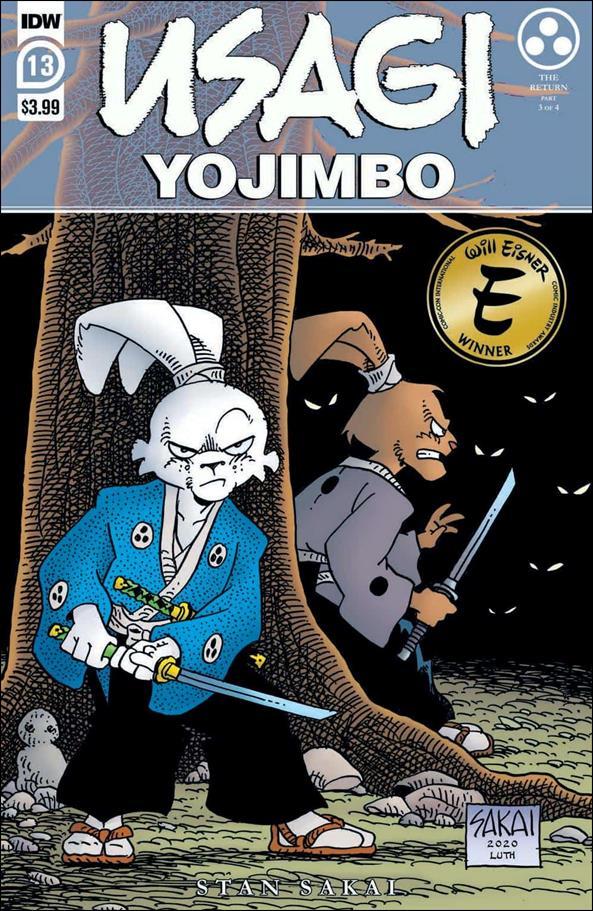 Usagi Yojimbo (2019) 13-A by IDW
