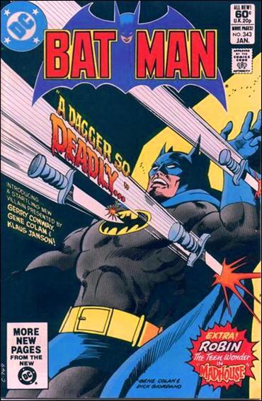 Batman (1940) 343-A by DC