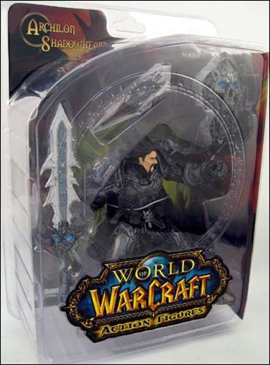 World of Warcraft (Series 2) Archilon Shadowheart (Human Warrior) by DC Direct