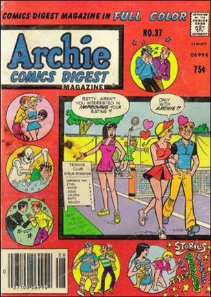 Archie Comics Digest Magazine 37-A