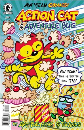 Aw Yeah Comics: Action Cat & Adventure Bug 3-A