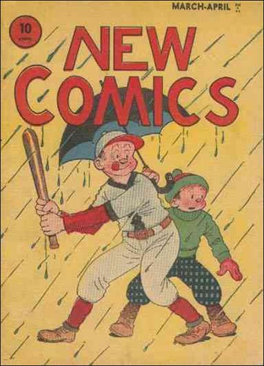 New Comics 4-A by DC