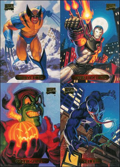 1994 Marvel Masterpieces (Promo) nn 1-A by Fleer