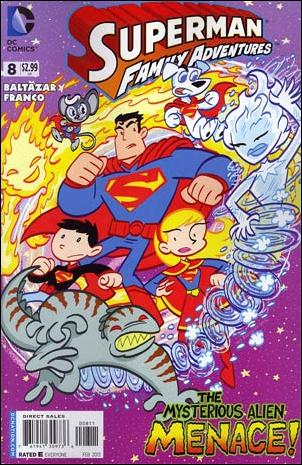 Superman Family Adventures 8-A by DC