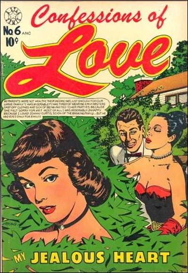 Confessions of Love (1952) 6-A by Star Publications