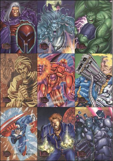 Marvel Ultra: Onslaught (Preview Set Uncut Sheet) nn-A by Fleer/SkyBox
