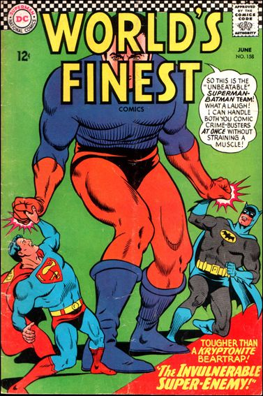 World's Finest Comics 158-A by DC
