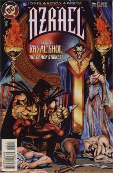 Azrael (1995) 5-A by DC