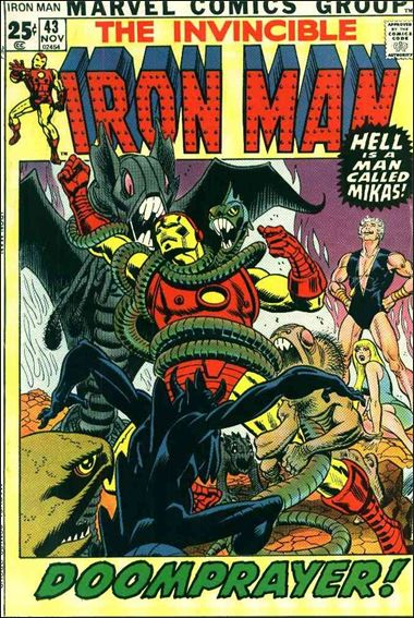 Iron Man (1968) 43-A by Marvel