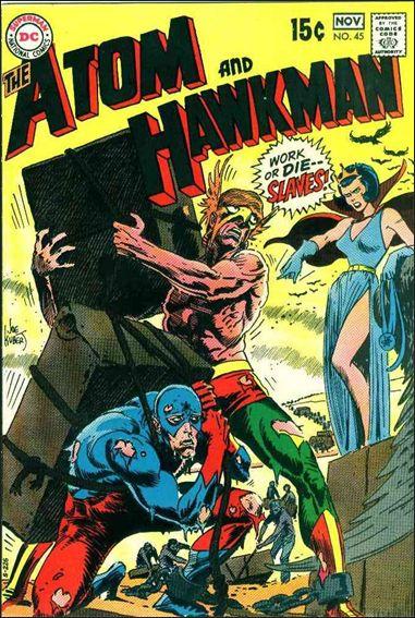 Atom & Hawkman 45-A by DC