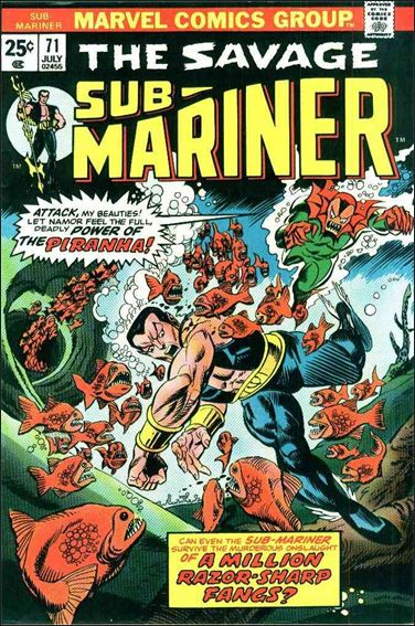 Sub-Mariner (1968) 71-A by Marvel