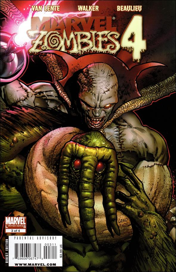 Marvel Zombies 4 3-A by Marvel