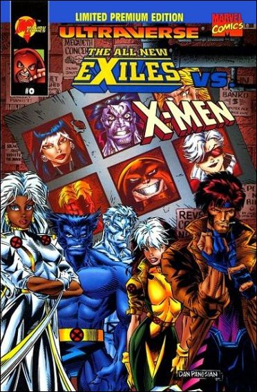 All New Exiles vs X-Men 0-A by Malibu
