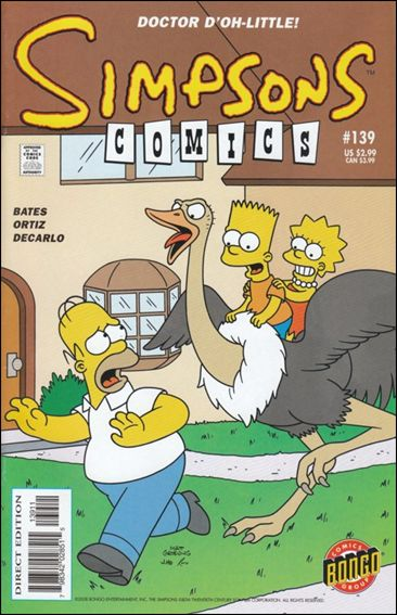 Simpsons Comics 139-A by Bongo