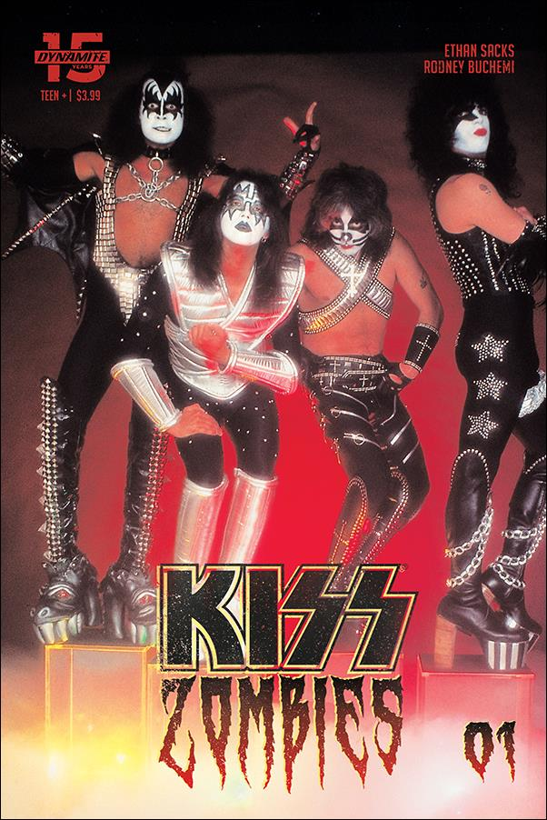 Kiss Zombies 1-D by Dynamite Entertainment
