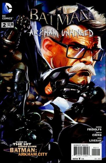 Batman: Arkham Unhinged 2-A by DC