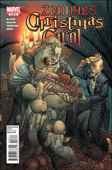 Marvel Zombies Christmas Carol 3-A by Marvel