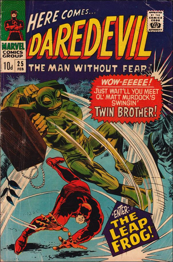Daredevil (1964) 25-B by Marvel