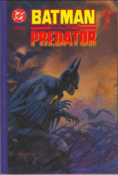 Batman Versus Predator 1-D by DC