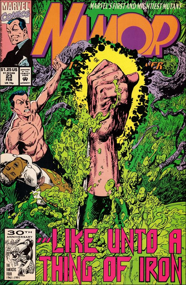 Namor: The Sub-Mariner 23-A by Marvel