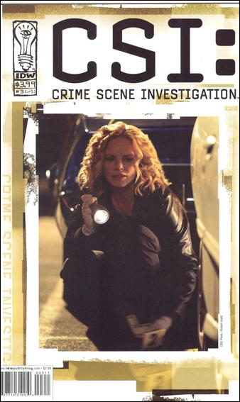 CSI: Crime Scene Investigation 3-B by IDW