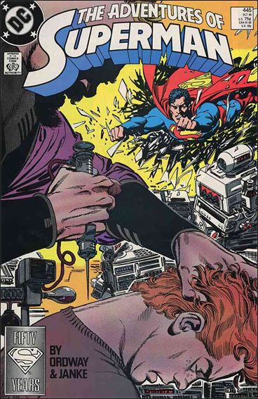 Adventures of Superman (1987) 445-A by DC