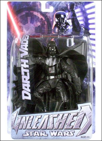 Star Wars: Unleashed Darth Vader (Bespin Steps) by Hasbro