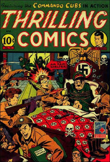 Thrilling Comics (1940) 41-A by Standard