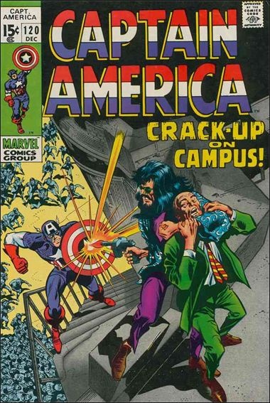 Captain America (1968) 120-A by Marvel