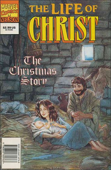 Life of Christ 1-A by Marvel