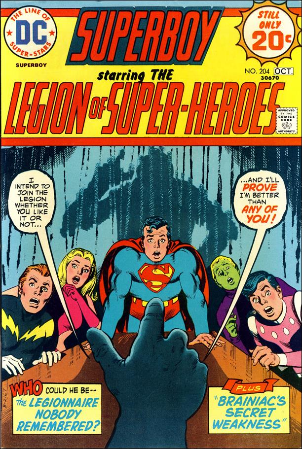 Superboy (1949) 204-A by DC