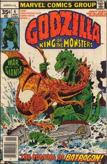 Godzilla (1977) 4-A by Marvel