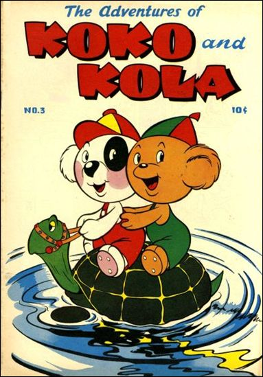 Koko and Kola 3-A by Magazine Enterprises
