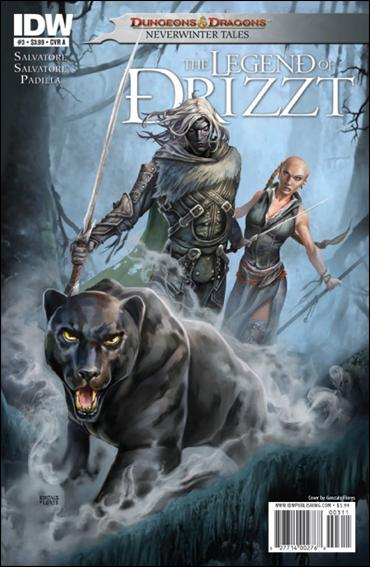 Dungeons & Dragons: The Legend of Drizzt: Neverwinter Tales 3-A by IDW