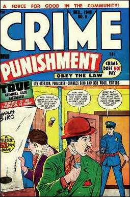 Crime and Punishment 9-A by Lev Gleason Productions