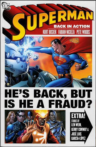 Superman: Back in Action 1-A by DC