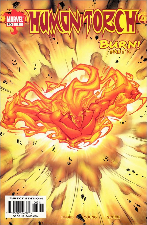 Human Torch (2003) 3-A by Marvel