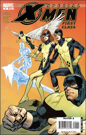 X-Men: First Class Special 1-A by Marvel