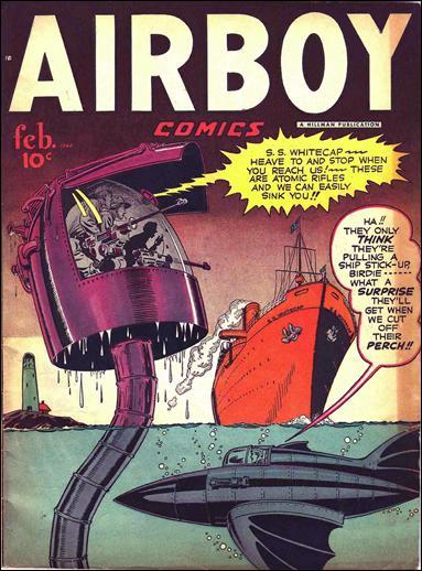 Airboy Comics (1948) 1-A by Hillman