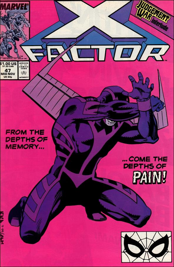 X-Factor (1986) 47-A by Marvel