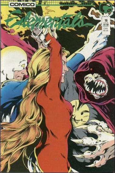 Elementals (1984) 16-A by Comico