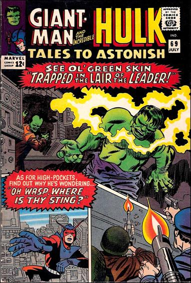 Tales to Astonish (1959) 69-A by Marvel