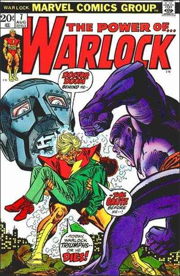 Warlock (1972) 7-A by Marvel